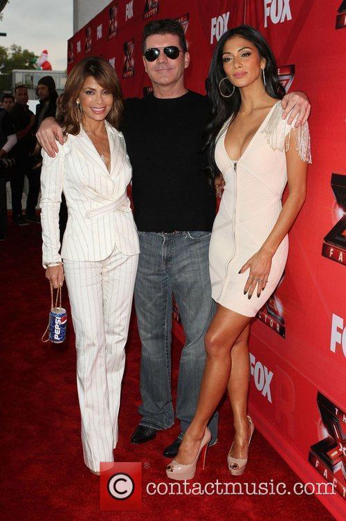 Paula Abdul, Nicole Scherzinger, Simon Cowell and The X Factor 10