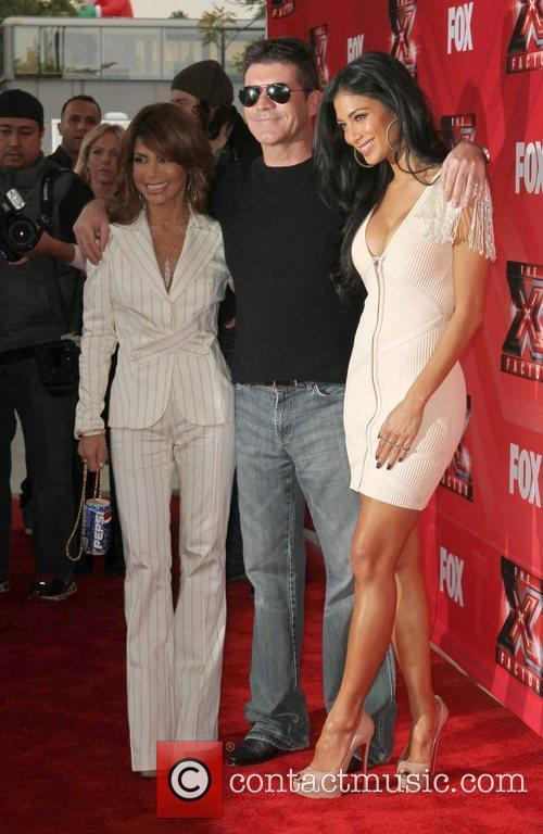 Paula Abdul, Nicole Scherzinger, Simon Cowell and The X Factor 2