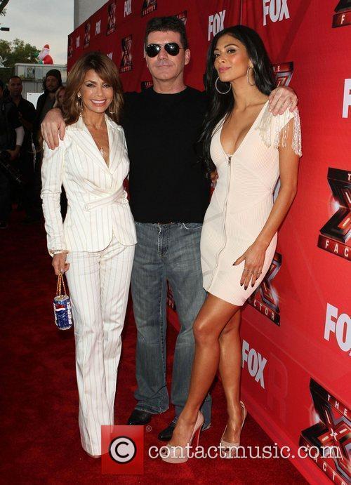 Paula Abdul, Nicole Scherzinger, Simon Cowell and The X Factor 5