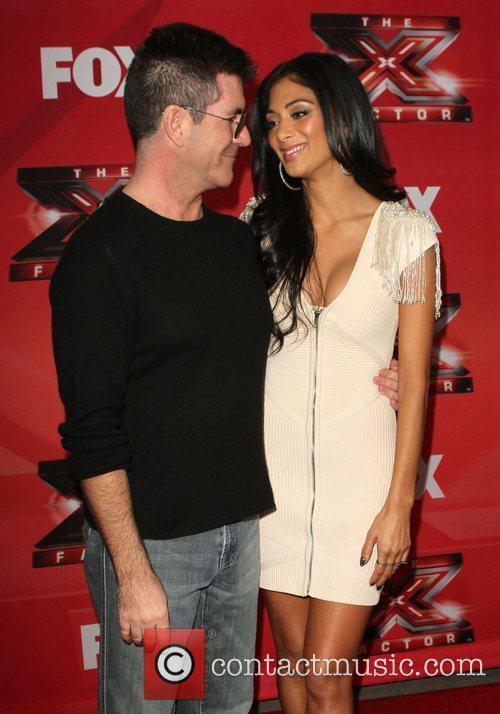 Simon Cowell, Nicole Scherzinger and The X Factor 8