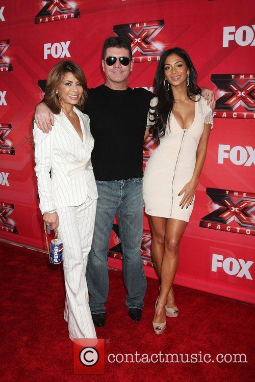 Paula Abdul, Nicole Scherzinger, Simon Cowell and The X Factor 12