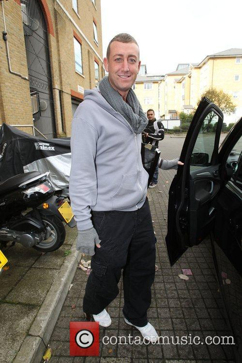 Christopher Maloney The X Factor finalists outside the...