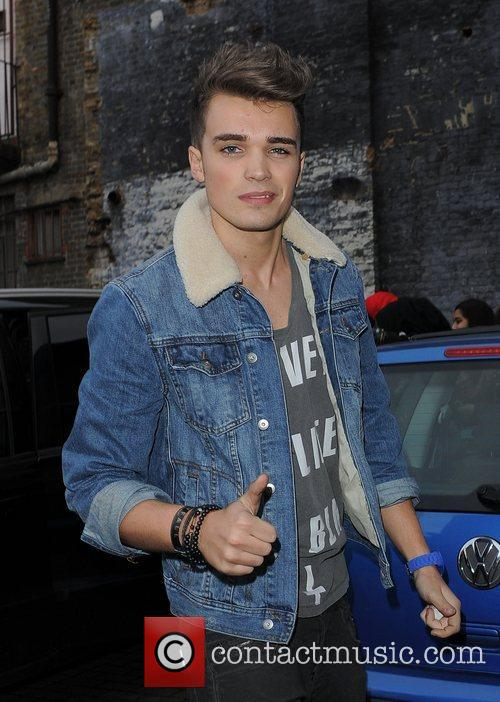X Factor contestant Josh Cuthbert from boyband Union...