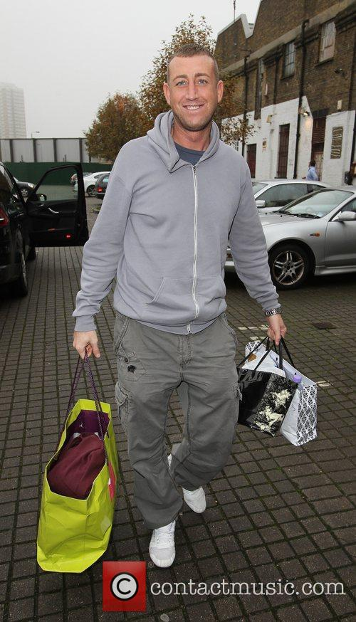 Christopher Maloney 'X Factor' contestants arriving at the...