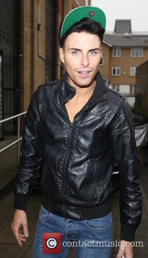 Rylan Clark 'X Factor' contestants arriving at the...