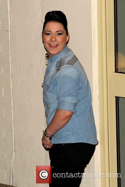 Lucy Spraggan Celebrities leaving the X Factor at...