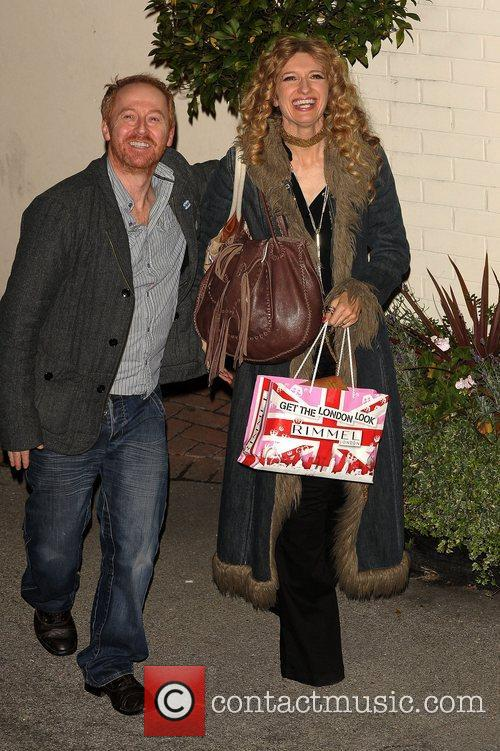 Melanie Masson Celebrities leaving the X Factor at...