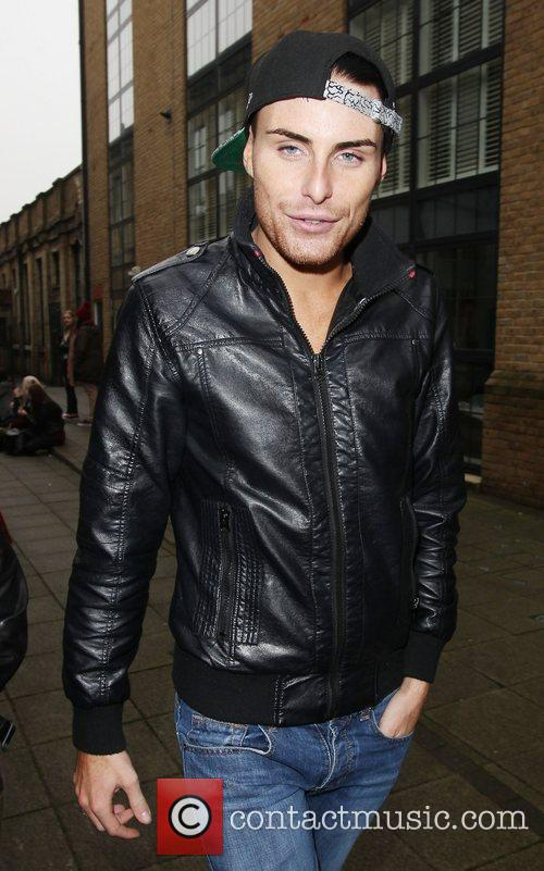 'X Factor' contestants arriving at the studios for...