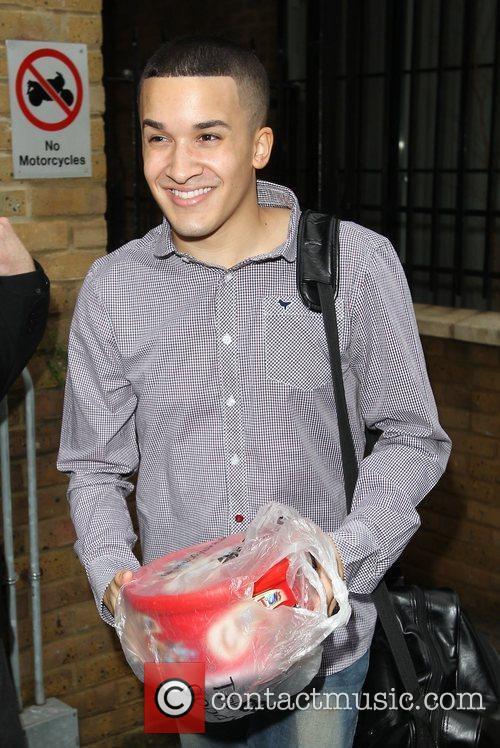 Jahmene Douglas 'The X Factor' contestants arrive at...