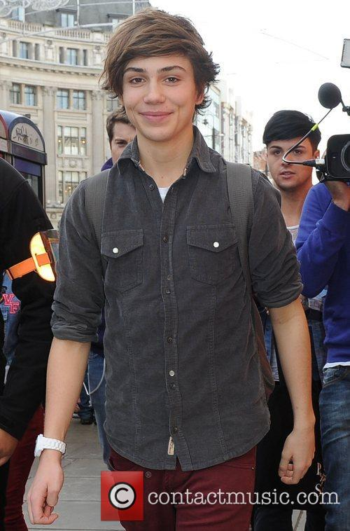 'X Factor' contestants Union J out shopping at...