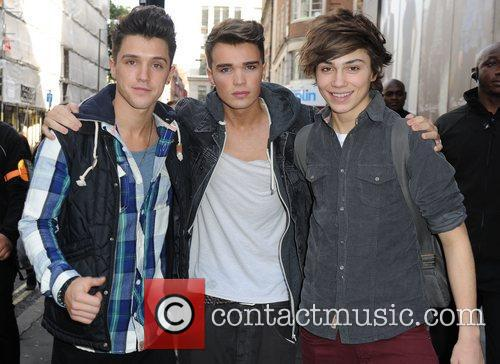Jamie Hamblett, Josh Cuthbert, George Shelley  'X...