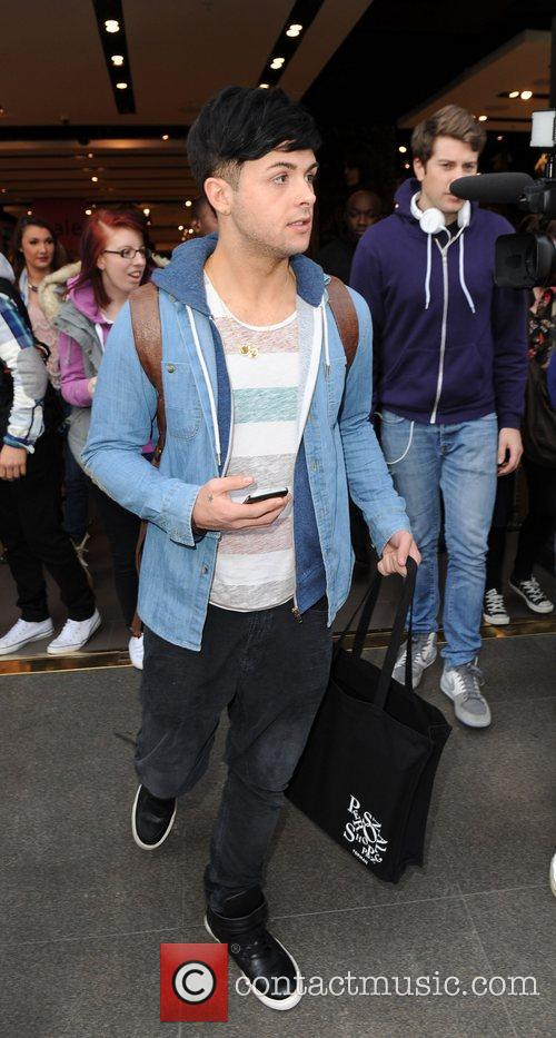 Jaymi Hensley 'X Factor' contestants Union J out...