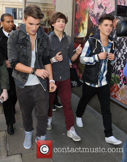 Josh Cuthbert, George Shelley, Jamie Hamblett  'X...