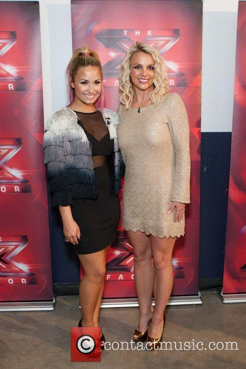 Demi Lovato and Britney Spears X Factor auditions...