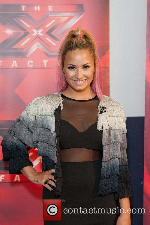 Demi Lovato  X Factor auditions - arrivals...