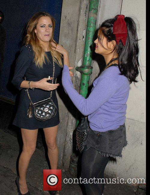 Caroline Flack and Bip Ling,  at The...