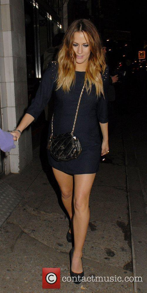 Caroline Flack,  at The X Factor Wrap...
