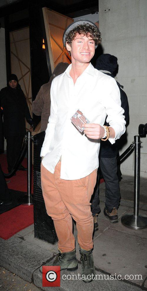James Michael at The X Factor Wrap Party...