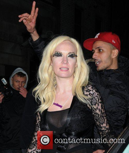 Kitty Brucknell at The X Factor Wrap Party...
