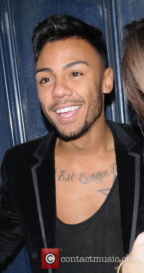 Marcus Collins at The X Factor Wrap Party...