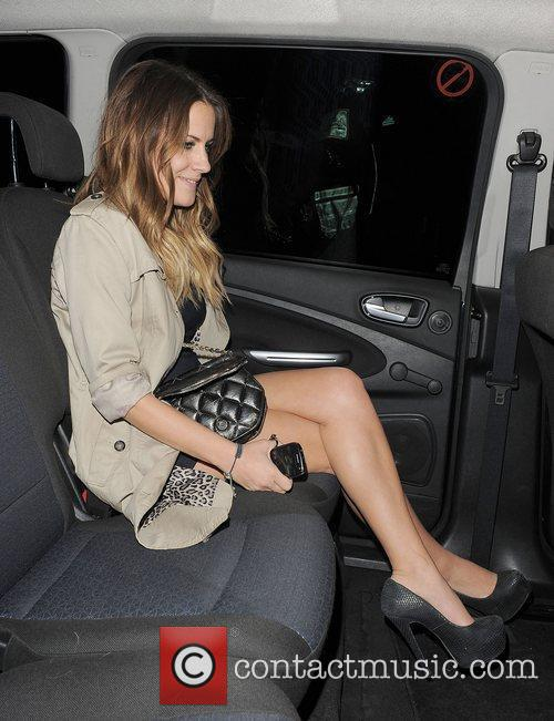 X Factor presenter Caroline Flack. The X Factor...