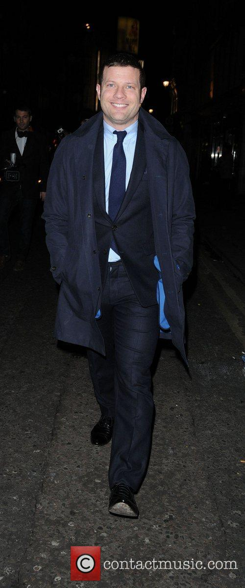 Dermot O'Leary at The X Factor Wrap Party...