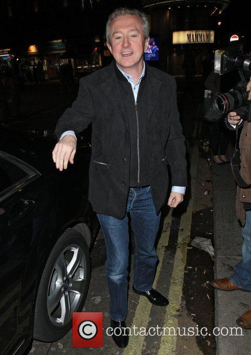 Louis Walsh at The X Factor Wrap Party...