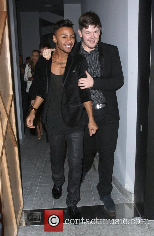 Marcus Collins and Craig Colton The X Factor...