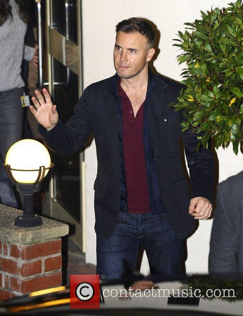 Gary Barlow, X Factor and Fountain Studios 4