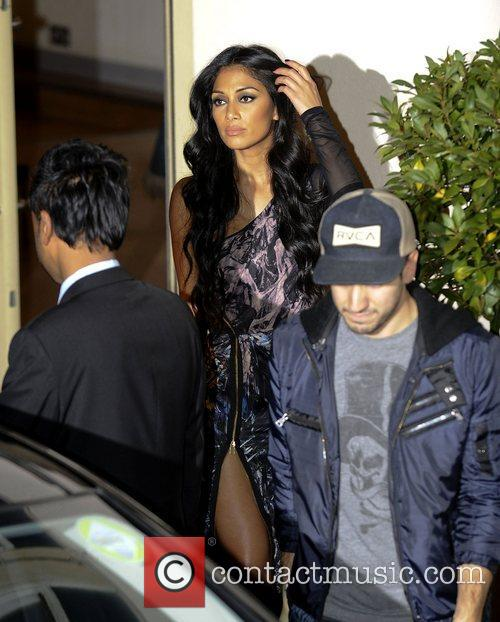 Nicole Scherzinger, X Factor and Fountain Studios 1