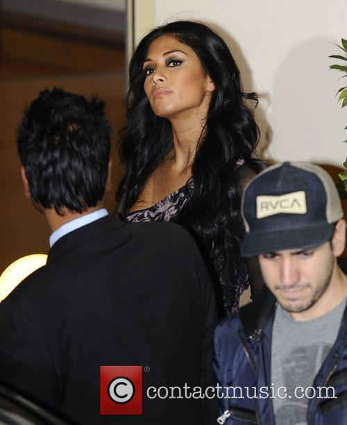 Nicole Scherzinger, X Factor and Fountain Studios 4