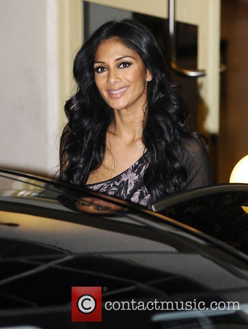 Nicole Scherzinger, X Factor and Fountain Studios 5