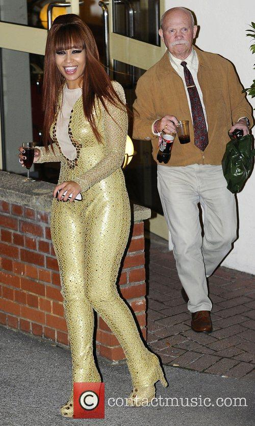 Rebecca Ferguson, X Factor and Fountain Studios 1
