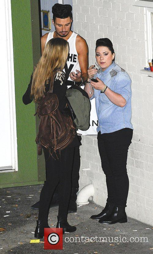 Rylan Clark and Lucy Spraggan,  at the...