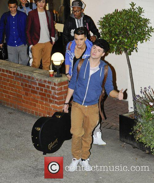 Union J,  at the X Factor held...