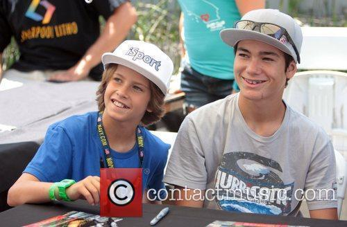 Jagger Eaton and Alex Sorgente  X-Games event...