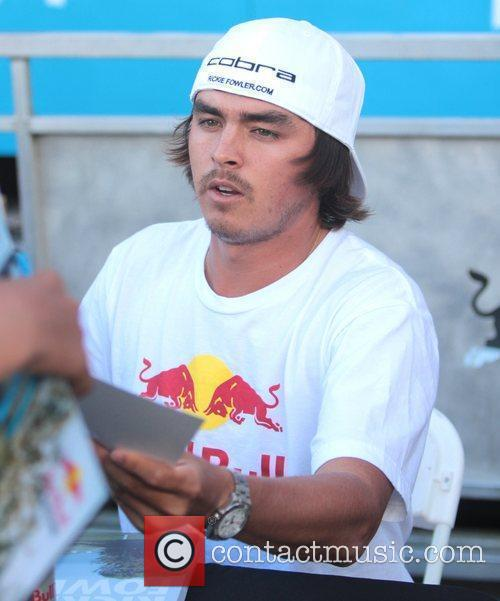 Rickie Fowler  X-Games event in Downtown LA...