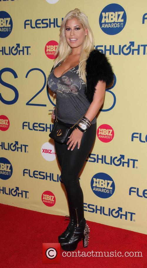 Bridget B XBIZ Awards 2013 at Hyatt Regency...
