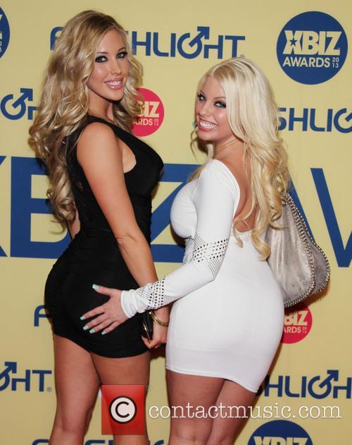 Britney Amber; Guest XBIZ Awards 2013 at Hyatt...