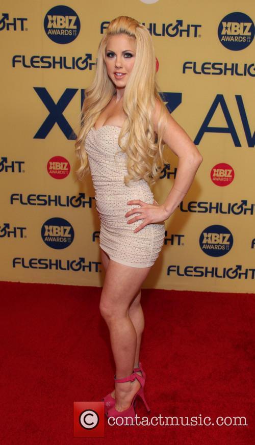 Holly Hanna XBIZ Awards 2013 at Hyatt Regency...