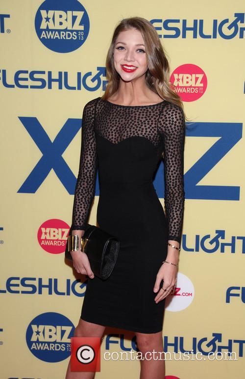 Jesse Anders XBIZ Awards 2013 at Hyatt Regency...
