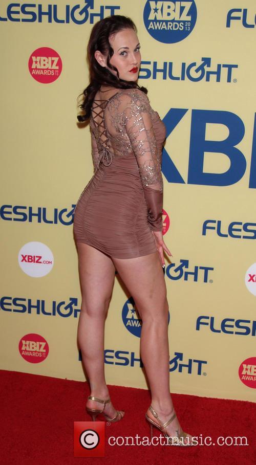 Josie Valentine XBIZ Awards 2013 at Hyatt Regency...