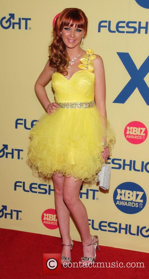 Marie McCray XBIZ Awards 2013 at Hyatt Regency...