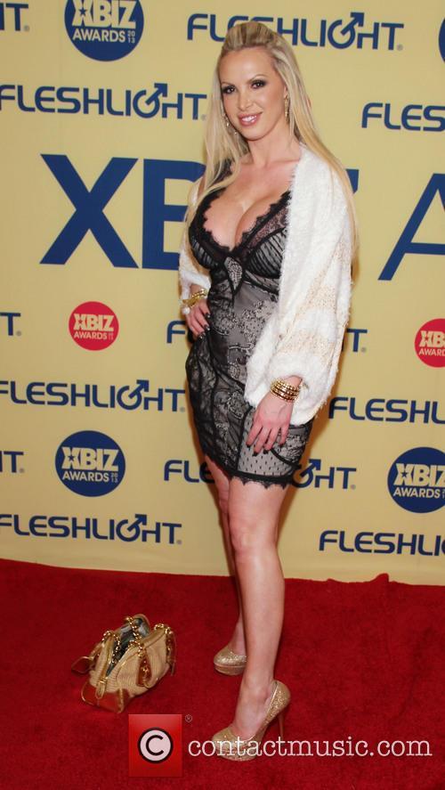 Nikki Benz XBIZ Awards 2013 at Hyatt Regency...