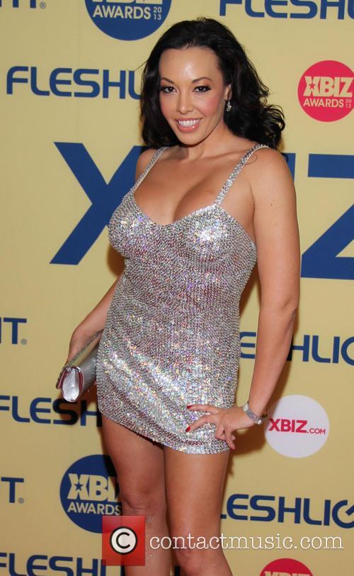 Rio Lee XBIZ Awards 2013 at Hyatt Regency...