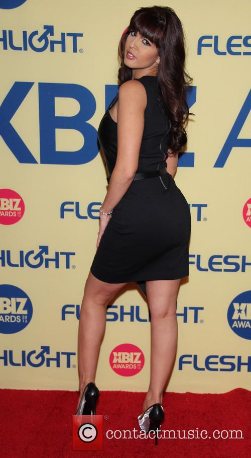 Shy Love XBIZ Awards 2013 at Hyatt Regency...