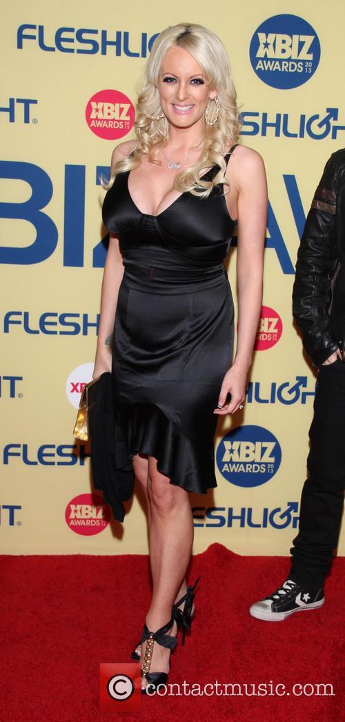 Stormy Daniels XBIZ Awards 2013 at Hyatt Regency...