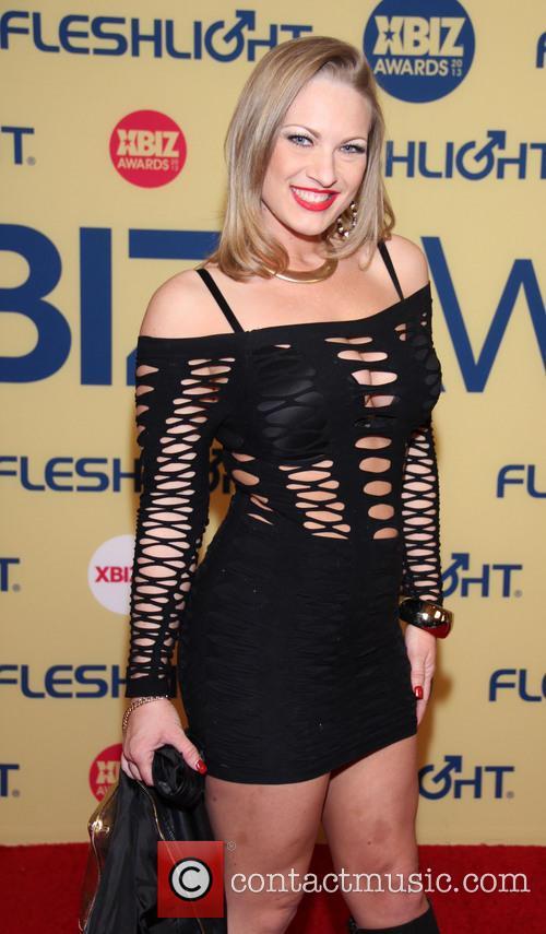 Vicki Vincent XBIZ Awards 2013 at Hyatt Regency...