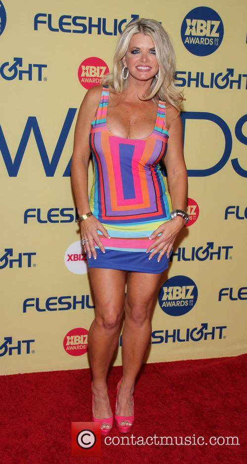 Vicky Vette XBIZ Awards 2013 at Hyatt Regency...
