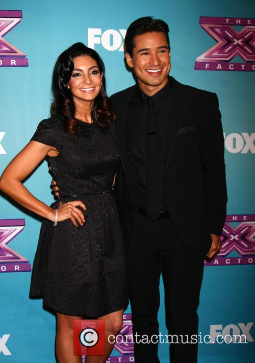 Courtney Mazza and Mario Lopez 3